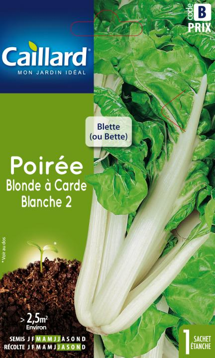 POIREE BLONDE A CARDE BLANCHE 2