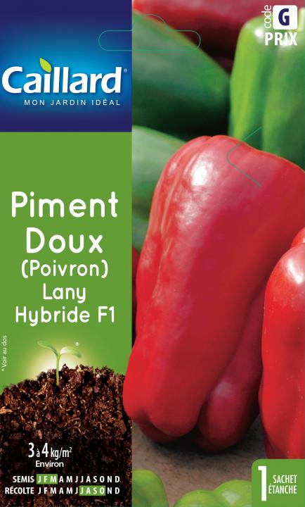 PIMENT DOUX LANY HYRBIDE F1